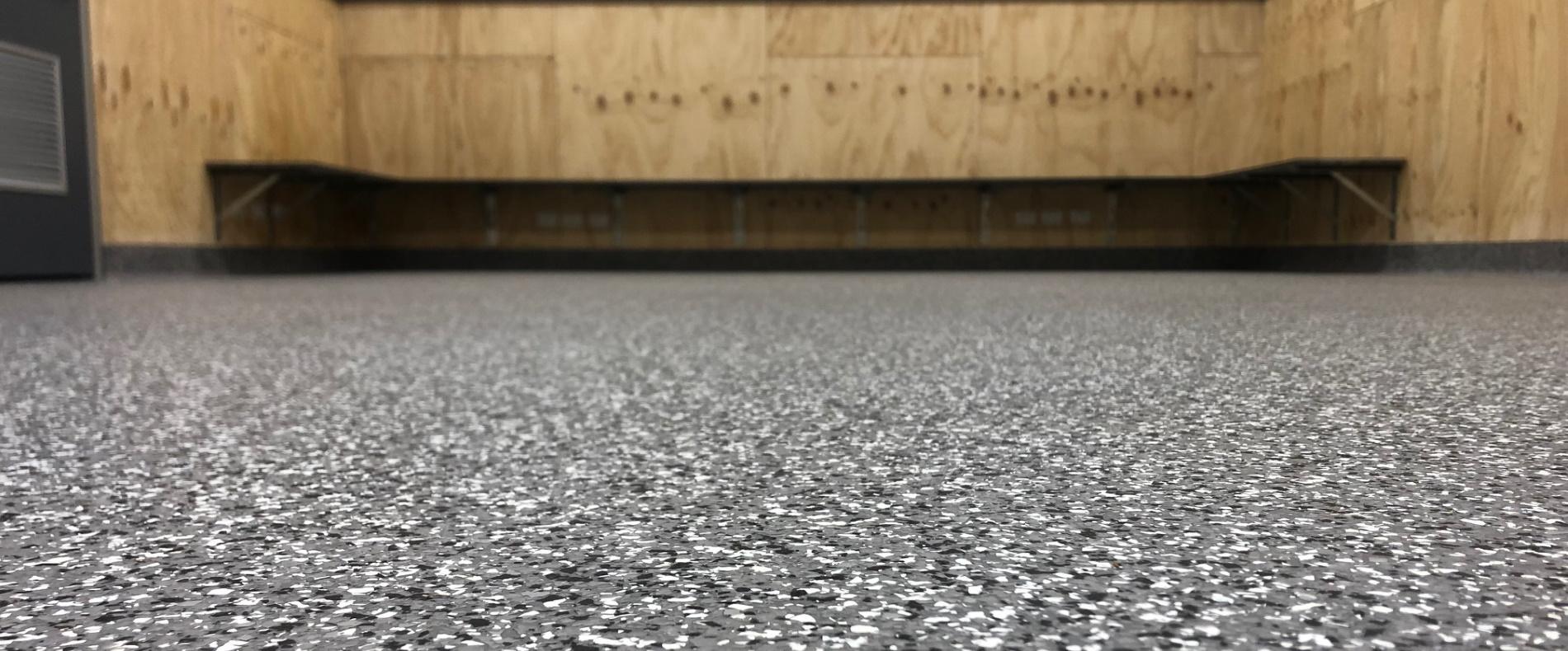Garage Flake Flooring